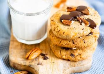 Recette Cookies noix de pecan et chocolat